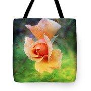 Textured Rose 3 Tote Bag