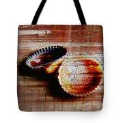 Textured Shells Tote Bag