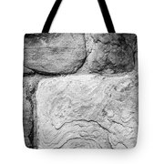 Textured Stone Wall Tote Bag