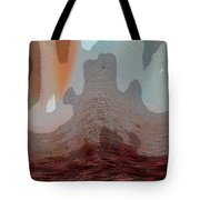 Textured Waves Tote Bag