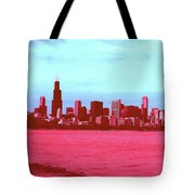 Textures Of Chicago Tote Bag