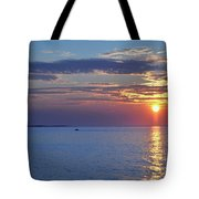 Thacher Island Twin Lights  Tote Bag