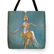 Thai Ballerina Tote Bag