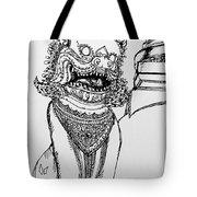 Thai Dragon Tote Bag