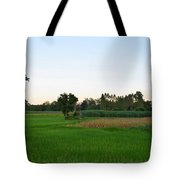 Thai Fields Tote Bag