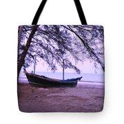 Thai Fishing Boat 04 Tote Bag