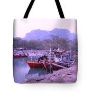 Thai Fishing Boats 05 Tote Bag
