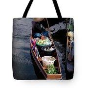 Thai Floating Village 1 Tote Bag