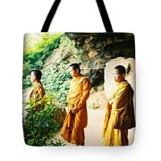 Thai Monks Tote Bag