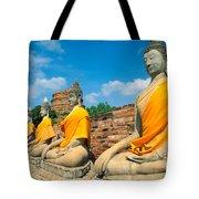 Thailand, Ayathaya Tote Bag