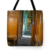 Thailand Train Tote Bag