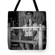 Thailands Long Neck Women Tote Bag