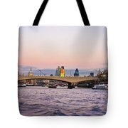 Thames Glow Tote Bag