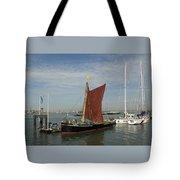 Thames Sailing Barge 'alice' Tote Bag