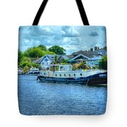 Thames Tug Boat Tote Bag