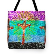 Thank God For Good Friday 3 Tote Bag