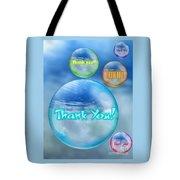 Thank You Bubbles Tote Bag