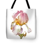 Thank You Greeting Items - Bearded Iris Tote Bag