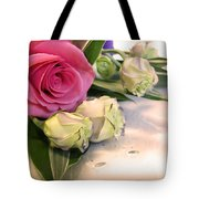 Thank You Rose Bouquet  Tote Bag