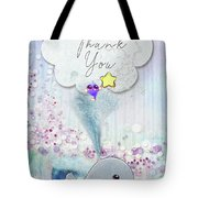 Thank You - Whale  Tote Bag