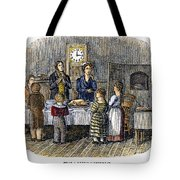 Thanksgiving, 1853 Tote Bag