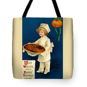 Thanksgiving Card Tote Bag