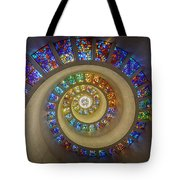 Thanksgiving Chapel Stained Glass Tote Bag