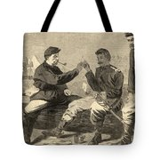 Thanksgiving Day In The Army Tote Bag