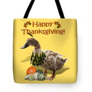 Thanksgiving Indian Duck Tote Bag