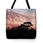 Thanksgiving Sky Tote Bag