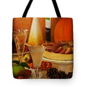 Thanksgiving Table Tote Bag