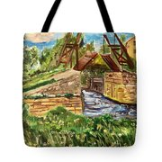 The Langloise Bridge Tote Bag