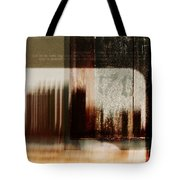 That Day In The City When We Lost Track Of Time Tote Bag