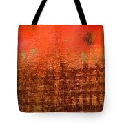 That Long Brown Fence Dividing You And Me Tote Bag
