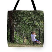 That Ole' Rope Swing Tote Bag