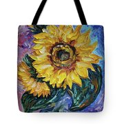 That Sunflower From The Sunflower State Tote Bag