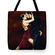 That Tango Moment Tote Bag