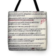 That The Works Of God Be Manifest Tote Bag