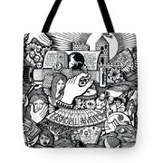 That We Die Is What Living Means Tote Bag