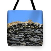 Thatched Cottage Gable Tote Bag