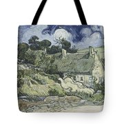 Thatched Cottages At Cordeville Tote Bag