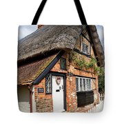 Thatched Cottages In Chawton 4 Tote Bag