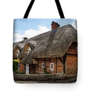 Thatched Cottages In Chawton Tote Bag