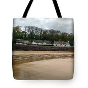 Thatched Cottages In Dunmore East Ireland  Tote Bag