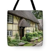Thatched Cottages Of Hampshire 25 Tote Bag