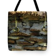 Thatched Roof Ties Tote Bag