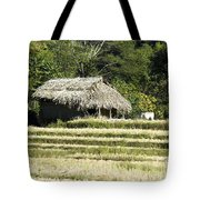 Thatched Shelter Tote Bag