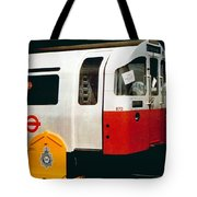 That'll Be The Day - Locomotive - London Underground - Retro Travel Poster - Vintage Poster Tote Bag