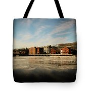 Thawing Saugatuck  Tote Bag