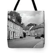 Thaxted Cottages In Black And White Tote Bag